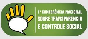 Logotipo da Conferência Nacional de Transparência e Controle Social