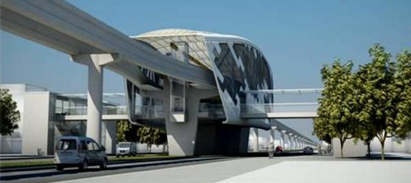 Projeto de Estação de Monotrilho de Manaus