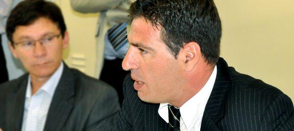 Vereador Paulo Rink, presidente da Comissão Especial para Acompanhamento dos Assuntos Relacionados à Copa do Mundo de 2014