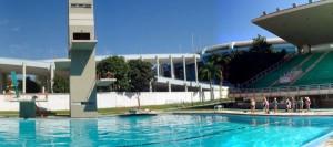Parque Aquático Julio Delmare foi fechado por conta da reforma do Maracanã.