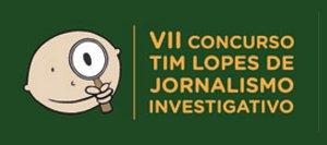 Logo do VII Concurso Tim Lopes de Jornalismo Investigativo