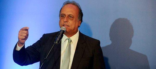Luiz Fernando Pezão,  governador do Rio
