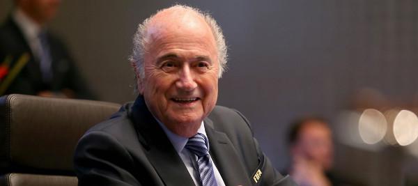 Após prisões, Transparência Internacional pede para que Blatter não se candidate para o seu quinto mandato. Foto: Alexander Hassenstein - FIFA/FIFA via Getty Images